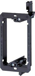 imbaprice-single-gang-1-gang-low-voltage-wallplate-mounting-bracket-black