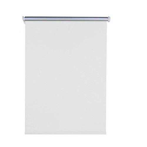 AUFUN Estor Opaco Enrollable Estor Térmico sin taladrar para Ventana y Puertas Estor Enrollable Thermo Tela - 70 x 160 cm, Blanco