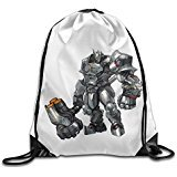 Overwatch Reinhardt Drawstring bag(Zaini)s Mountain Backpack Sport bag(Zaini) For Men & Women Backpack For Teens