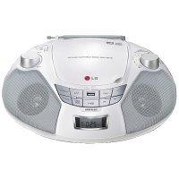 LG SB16W CD/Radio Spieler (1 Watt, Aux-IN, MP3, WMA, USB Playback) weiß (Radio Lg)