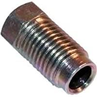 8018 FOR 6MM BRAKE//FUEL PIPE x 5 12MM x 1MM MALE PIPE NUTS
