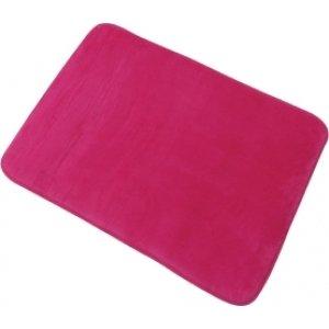 MSV 140857Douceur Teppich Memory-Form Polyester und Polyamid + Polyurethan + SBR Fuchsia 50x 70x 0,1cm