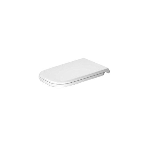 Sanifri abattant WC noir VIDO frein de chute d/éclipsable inox 470011437