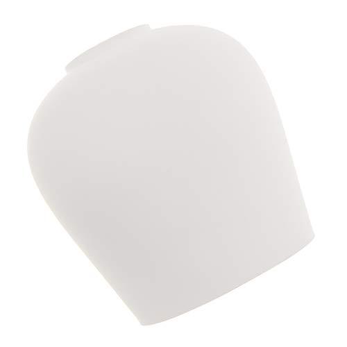 Homyl Weiß Glas Lampenschirm Ersatzschirm Deckenleuchte Pendelleuchte Wandleuchte Lampenglas für E27 oder E14 Glühbirne - 4