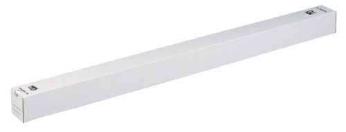 NIPS 141722102 PLAN-BOX 110 Quadratische Versandverpackung und Archivierungsbox, L 110 cm x B 7,5 x H 7,5 cm - geeignet für DIN A0, 20 Stck., weiß