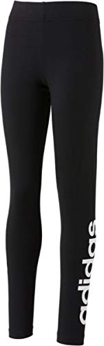 adidas Essentials Linear Tight Leggins Bambina Nero/Bianco 11 12A