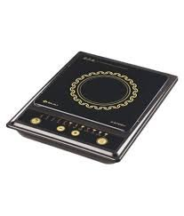 Bajaj Splendid 1200 Watts Tact Switch Induction Cooktop, Multicolour
