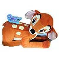 Fisher-Price - Mattel - Jumbo Bambi - riesengroße Plüschfigur - mit kleinem Schmetterling auf dem Rücken - ganz wunderschön - Vintage - Länge ca. 50 cm -