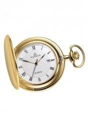 Dugena - 4288033 - Taschenuhr - weiß/gold