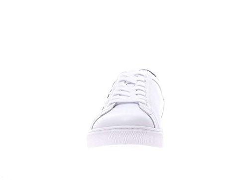 Nero Giardini Uomo Sneaker P704930U-707 Sneaker in pelle Bianco