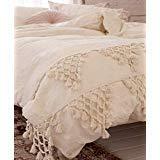 n Bettbezug Boho Quaste aus Baumwolle Tagesdecke Tröster Quilt Cover (Full Queen, 218,4x 228,6cm ()