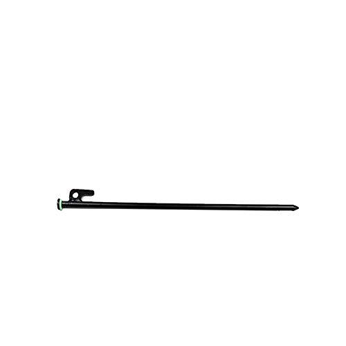 Zeltheringe Stahlnagel Heringe 20cm Außen Heavy Duty Stahl Markise Vordach Zeltheringe Pegs Nagel Für Campingzelt Tarp Stake Mit Fluoreszierenden Ring 4pcs -