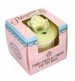 Rose And Co Patisserie De Bain Fairy Cake Moisturising Bath Melt GREEN TEA 45g