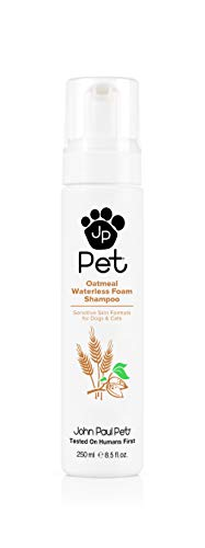 John Paul Pet Oatmeal Waterless Foam Shampoo 250ml