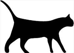 Selbstfärbender Stempel für Bonusmarken, Motiv: Katze -