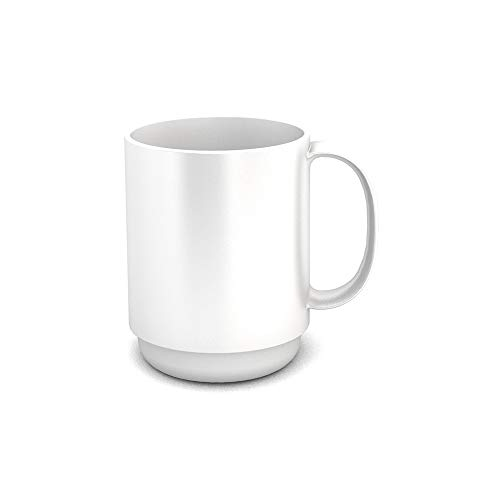 Ornamin Tasse 300 ml Blanche (Modèle 510) / tasse à thé, gobelet réutilisable, tasse à café