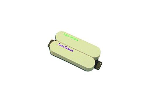 Lace 44483-03 Sensor Dually Bridge Tonabnehmer, Violett/Smaragd/cremefarben