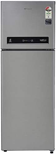 Whirlpool 265 L 3 Star Inverter Frost-Free Double Door Refrigerator (INTELLIFRESH INV CNV 278 3S, German Steel