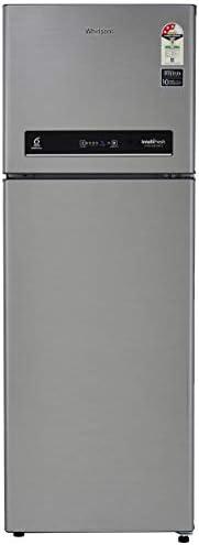 Whirlpool 265 L 3 Star Inverter Frost-Free Double Door Refrigerator (INTELLIFRESH INV CNV 278 3S, German Steel