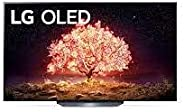 LG OLED TV 65 Inch B1 Series Cinema Screen Design 4K Cinema HDR webOS Smart with ThinQ AI Pixel Dimming, Black