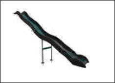 Anbaurutsche-Wellenrutsche-380m-dunkelgrn