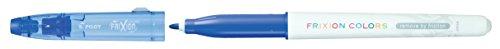 Pilot Frixion Buntstifte, radierbar, mit Faserspitze 12er-Pack blau