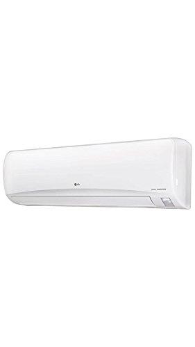 LG JS-Q24NPXA Inverter Split AC (2 Ton, 3 Star Rating, White, Aluminum)