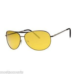 Guilty Gadgets ® Nachtfahr-Brille, blendfrei, polarisierte Passform über HD Vision, Sport, Cricket, Golf, UV400