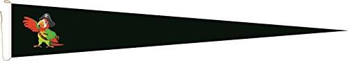 Haute Qualité pour U24 Long Fanion Drapeau Pirates Perroquet 250 x 40 cm