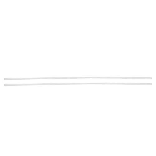 Huairdum Nylonstange, 2 STK. Kunststoff- und Gummistangen, verschleißfeste, runde Nylonstange 6 * 500 mm