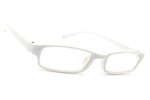 NEW UNISEX (Damen Herren) Retro Vintage Brille CLEAR LENS Saubere Linsen Shades Morefaz(TM) (Slim...