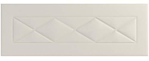 HOGAR24 ES Cabecero tapizado R55, válido para Cama 135,140 y 150 cm, Color Blanco. Medidas; 155 cm x 55 cm x 3cm