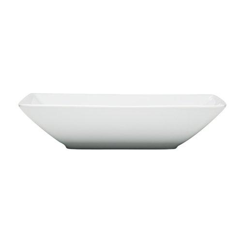 Thomas' Loft Plat Carré Creux 22 cm Blanc