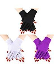 guanti uv Guanti da 3 paia di guanti protettivi per guanti anti-UV Guanti anti-UV per guanti protettivi proteggono le mani dai raggi UV della lampada (Set di colori 2)