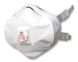 Advanced 3M - 8835 - P3 CUP STYLE RESPIRATOR - by 3M