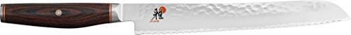 Miyabi 234076-231-0 Brotmesser, Stahl, 230 mm, silber / braun, 42,5 x 7,6 x 2,9 cm