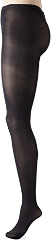 Capezio Women's Hold & Stretch Plus Footed Tights, Black, 3X