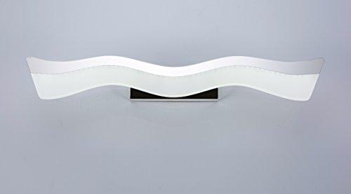 Plafoniera Muro : Specchio luce lampada da bagno plafoniera