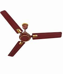 Surya Udaan Deco 900mm Ceiling Fan (Brown)