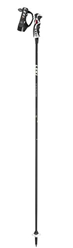 LEKI Erwachsene Skistock Carbon 11 S, Base Color: Black/Design: White-Neon Yellow-Anthr, 125 cm, 632-6788