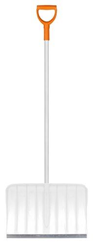Preisvergleich Produktbild Fiskars Schneeräumer 50 cm Kunststoff mit Alukante, weiß 143002