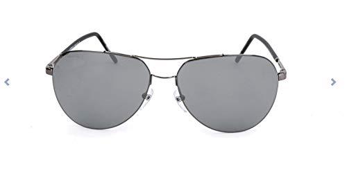 Montblanc Herren Mont Blanc Mb695S Sonnenbrille, Silber, 60