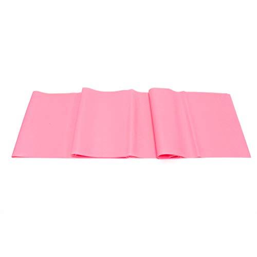 FantaCacy Übungen Widerstandsbänder, Elastische Stretchbänder Home Gym Kit für Physiotherapie Stretching Yoga Rehab - Rosa