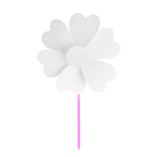 e Kinder Spielzeug, Leere Weißbuch Windrad Handwerk DIY Zeichnung Material Kind Pädagogisches Zubehör Geschenk ()