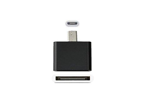 Samsung-pin-auf-usb-adapter (Adapter, 30-Pin-Buchse auf Micro-USB-Stecker, Adapter für das iPhone 3G 3GS 44S)
