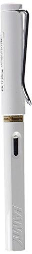 Lamy FH21854 -Füllfederhalter Safari, Feder: B,Modell 019, weiß