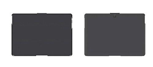 """Preisvergleich Produktbild 'BQ Duo Case Aquaris M1010.1""""Ordner grau–Schutzhüllen für Tablet (25,6cm (10.1), Rückenlehne, grau, Mikrofaser, Polycarbonat, Polyurethan, BQ, Aquaris M10)"""