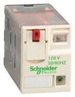 Schneider RXM3AB2F7 Miniaturrelais Rxm, 3 W, 10 A, 120 Vac, LED -