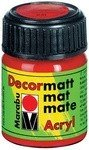 Decormatt Acryl, Karminrot 032, 15 ml