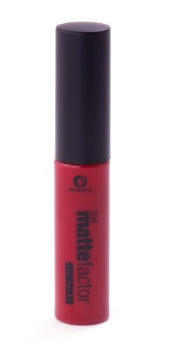 Miners Cosmetics, Rossetto liquido opaco The Matte Factor, Deep Red